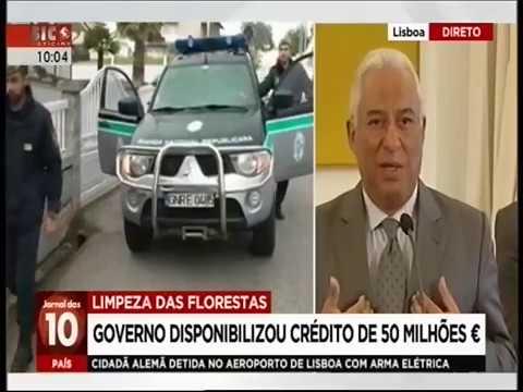 António Costa e Manuel Machado respodem às questões dos jornalistas - 15/03/2018
