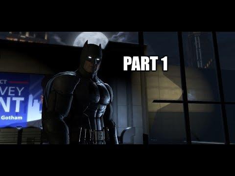 This City needs a HERO!!!!-Batman the Telltale series SEASON 1- part 1