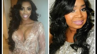 Porsha Williams RHOA Reunion Makeup Tutorial Thumbnail
