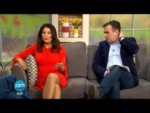 Actor Brian Murray interviewed on Tv3 SundayAm about Dave Allen