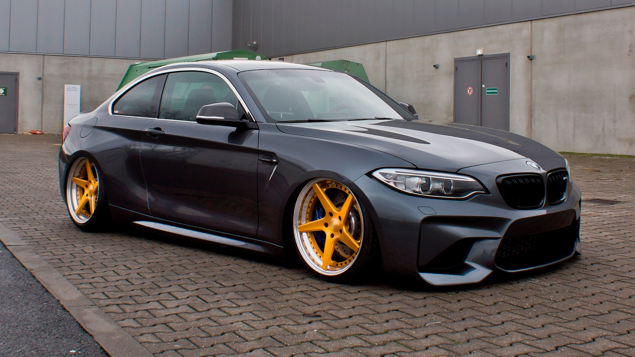 BMW M2 ON ACCUAIR SUSPENSION! VLOG #042
