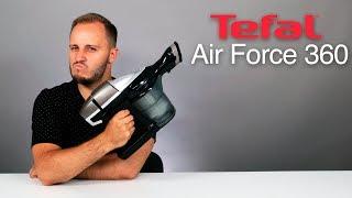 обзор беспроводного пылесоса Tefal