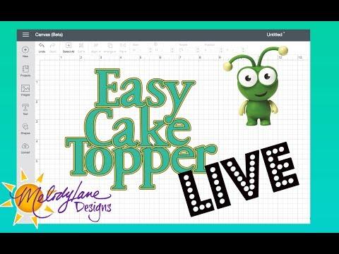 Make a Cake Topper in Cricut Design Space 3