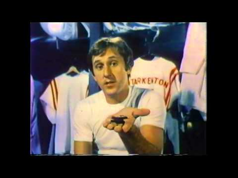 Fran Tarkenton Razor Commercial - 1970s