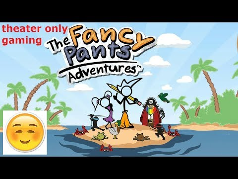 fancy pants adventure world 3-  Why did the Pirates take my sister!?