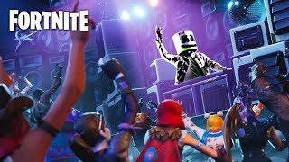 Fortnite Showtime Marshmello | Event | HD | LIVE #Fortnite #Marshmello