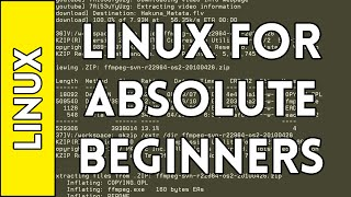First Commands - Introduction to Linux for Absolute Beginners #1 (2016)