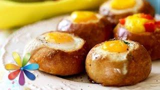 Топ-3 завтраков из яиц: роллы, яйца-кокот и яичница в булочке-Лучшие советы«Все буде добре»-17.08.15