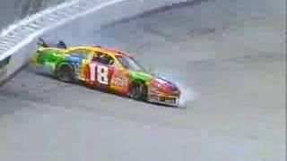 2008 Food City 500 - Kyle Busch Crash/Skinner Fire