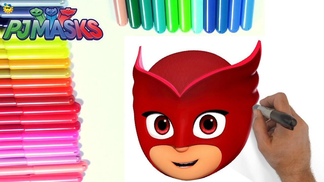 7432c76c5 ROTULADORES MÁGICOS DE LOS PJ MASKS O HÉROES EN PIJAMAS CON DIBUJOS SORPRESA  color wonder PJ Masks