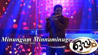 Minungum Minnaminuge Flute Song HD | Mohanlal | Film Oppam | Flute Cover by Rajesh Cherthala