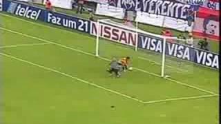 chivas 1 aragua 1 copa sudamericana partido de vuelta .wmv