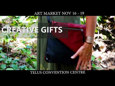Nov 16 to 19 - Calgary Art Market Craft Sale