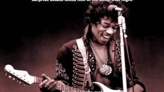 Jimi Hendrix - Castles Made of Sand  - Sub Ingles Español