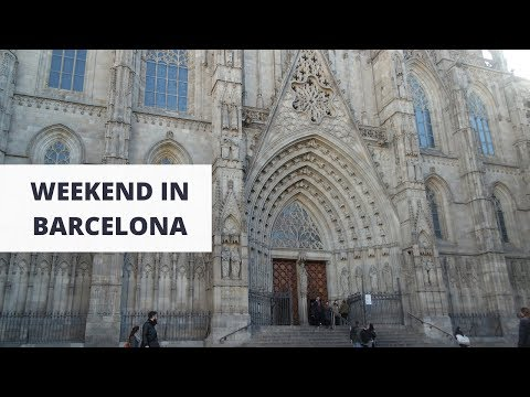 A Weekend in Barcelona + Day Trip to Montserrat