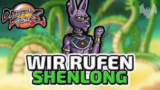 Wir rufen Shenlong - ♠ Dragon Ball FighterZ ♠ - Deutsch German - Dhalucard