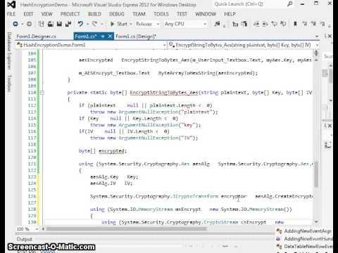 c# aes file encryption example
