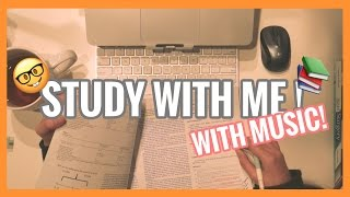 Study with me (with music!)| real time study session for study motivation