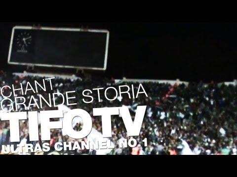 CURVA SUD MAGANA. .. CHANT 'GRANDE STORIA' - Ultras Channel No.1