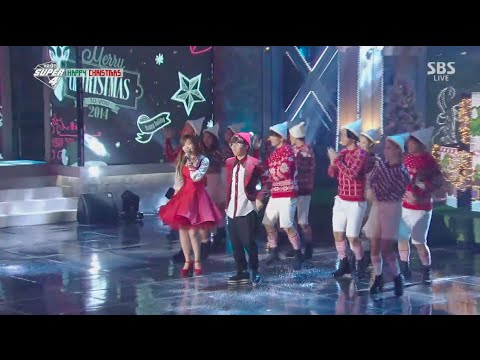 Akdong Musician(AKMU) - 'WINTER WONDERLAND' + '200%' in 2014 SBS Gayodaejun