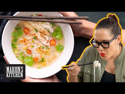 How To Make Thai Chicken Noodle Soup Street Food Style 🍜🍜🍜 Marion's Kitchen