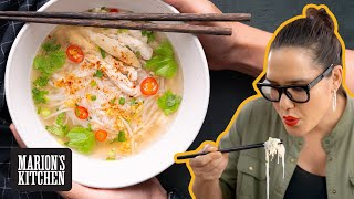 Download lagu How To Make Thai Chicken Noodle Soup Street Food Style 🍜🍜🍜 Marion's Kitchen
