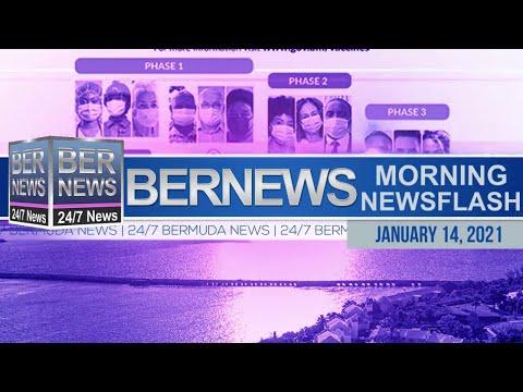 Bermuda Newsflash For Thursday, Jan 14, 2021