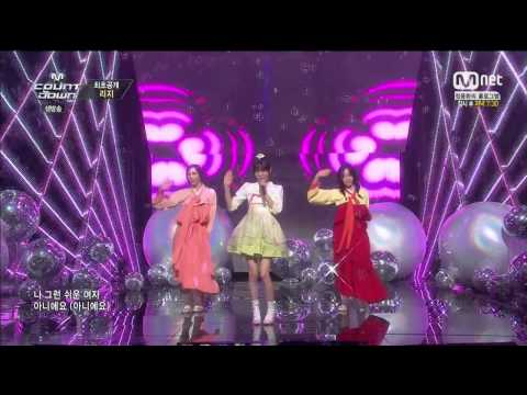 150122 Lizzy - Not An Easy Girl (Solo Debut Stage)
