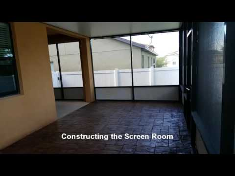 Building a Screen Room