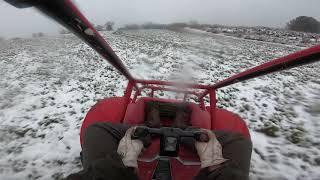 FL250 Honda Odyssey 2 Stŗoke Go Kart Snow Driving