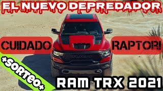 LA TREX YA TIENE A SU PRESA. RAM TRX 2021: MUCHISIMO MÁS QUE UNA RAM 1500 CON UN HELLCAT + SORTEO