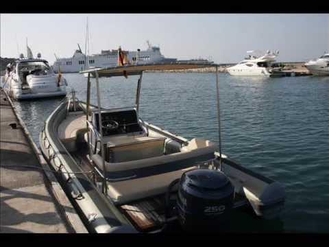 charter boat ibiza/nova marine/jet service ibiza