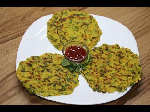 मूली का चीला | मूली के पैनकेक | Radish Pancake Recipe | Mooli Cheela Recipe | Easy Breakfast Recipe