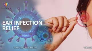 Ear Infection Treatment & Relief ➤ Ear Infection Healing Sound Therapy ➤ Binaural Beats #GV427