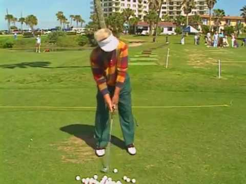 1994 Moe Norman Single Plane golf swing demo - Interview - (Part 2 of 2)