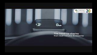 Descoperă Accesoriile Originale Audi ⭕⭕⭕⭕  Head Up Display la Cybernet Auto Center!