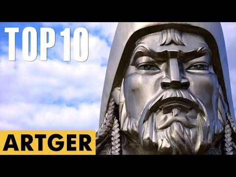 TOP 10 Great Mongolian Leaders In History