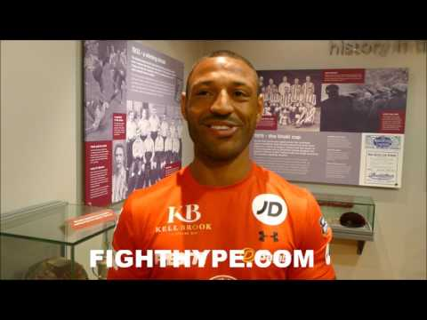 KELL BROOK WARNS CANELO THAT GOLOVKIN TOO STRONG; PICKS KOVALEV OVER WARD, RIPS MAYWEATHER-MCGREGOR