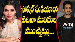 Akhil called Samantha Vadhina in Twitter? | Latest Telugu Movie News | Tollywood News