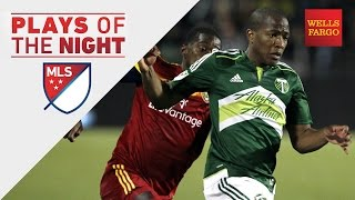 Darlington Nagbe steals the show | Plays of the Night presented by Wells Fargo