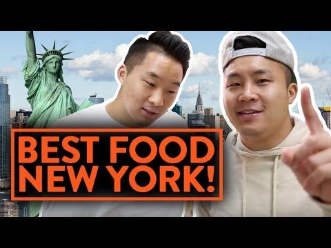 THE BEST FOOD IN NEW YORK! - Fung Bros Food