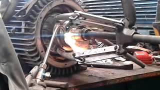 changement de roulement d'un moteur asynchrone