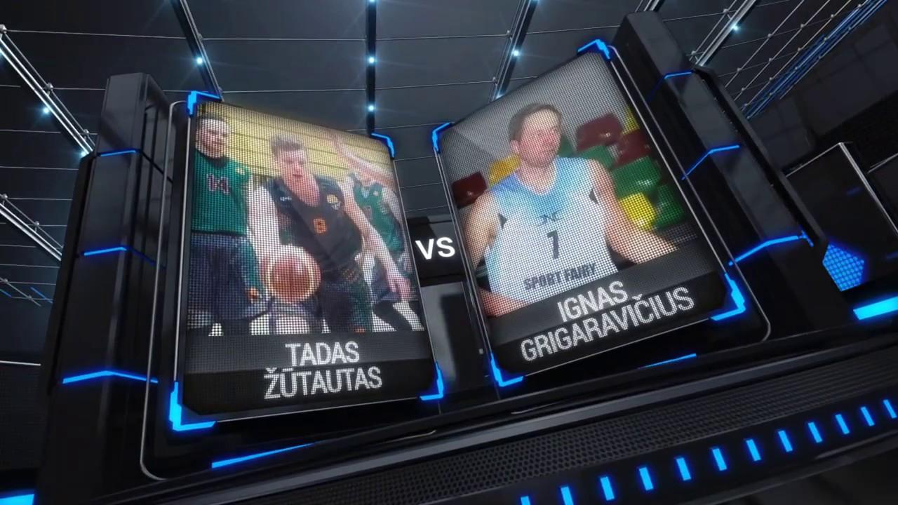 TOPsport Ghetto King 1x1: Tadas Žūtautas vs Ignas Grigaravičius