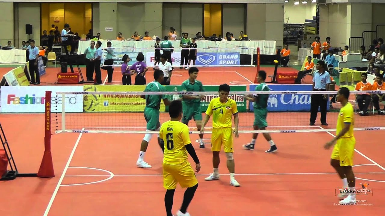 Sepak Takraw Prince Cup 2014 Day 3 Highlights Youtube