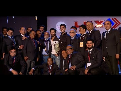 Mr. Varun Dhawan at Lux Conference 2018 (Mumbai)