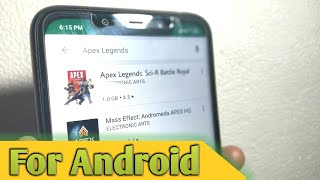 How To Download Apex Legends For Android apk+data - PUBG or Fortnite Killer