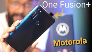Motorola One Fusion Plus - Cheap Design with Good Features ...!!