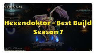 Diablo 3 - Hexendoktor: Der beste Build für Patch 2.4.2 (Solo +Gruppenspiel, Season 7)