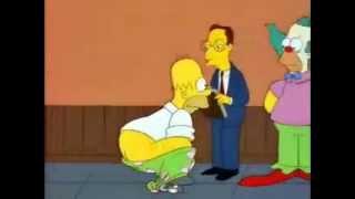 Смешной момент из Симпсонов
