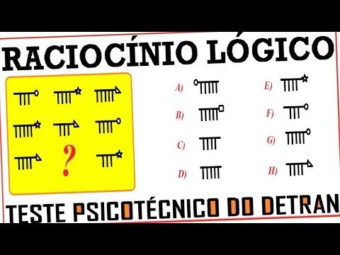 Raciocínio Lógico Sequência Figura Teste psicotécnico QI Quociente de Inteligência Detran Concurso de YouTube · Duração:  3 minutos 5 segundos